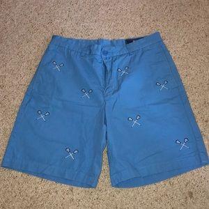 Vineyard Vines Club Shorts Embroidered Lacrosse